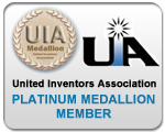 United Inventors Association Platinum Medallion Member